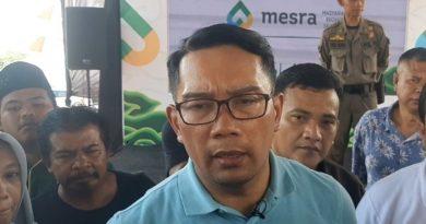 Gubernur Jawa barat Ingatkan Ridwan Saidi : Selaku Tokoh Budayawan Harus hati hati mengeluarkan statement