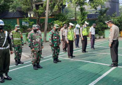 Angota Koramil 03/Sukmajaya bersama Kepolisian dan Dishub terus lakukan Pengecekan
