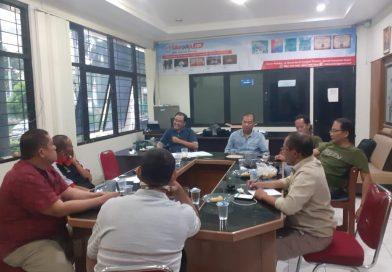 Rapat terbatas pokja wartawan kab. Bogor, bahas giat 2021.