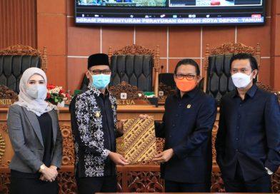 Agenda Rapat Paripurna DPRD Kota Depok Tetapkan Propemda 2022 dan 3 Raperda